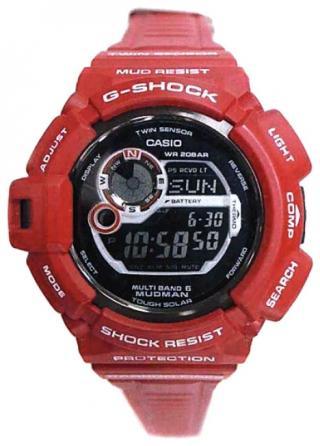 Часы Casio G-9300RD-4E