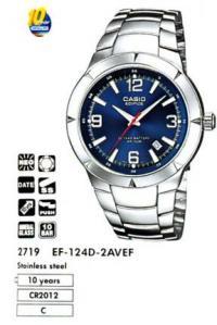 Часы Casio EF-124D-2A