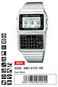 Часы Casio DBC-32C-8B