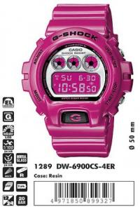 Часы Casio DW-6900CS-4E