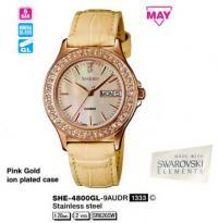 Часы Casio SHE-4800GL-9A