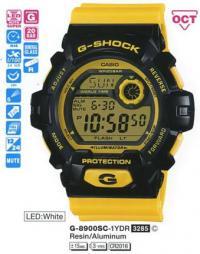 Часы Casio G-8900SC-1Y